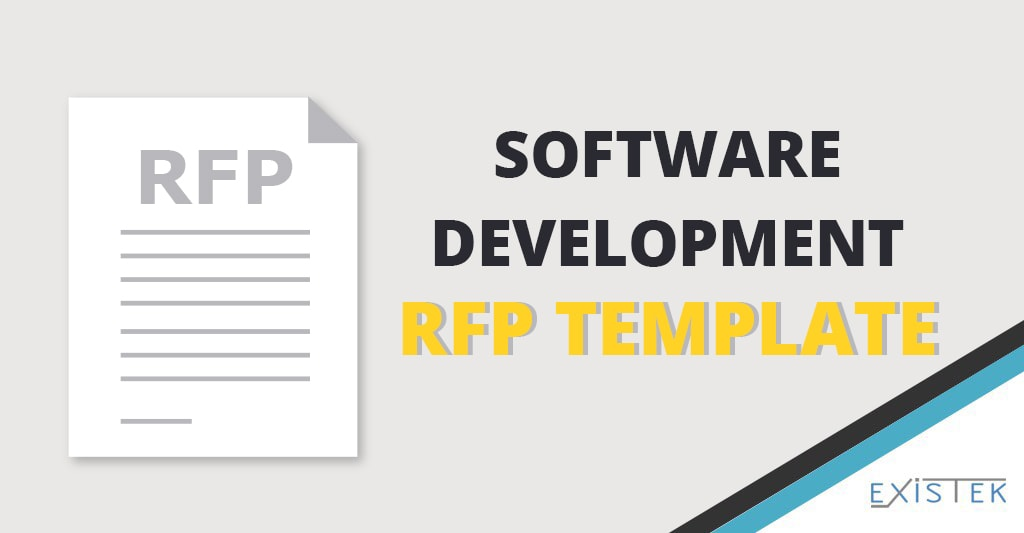 How To Write An Rfp And Rfp Template For Software Development