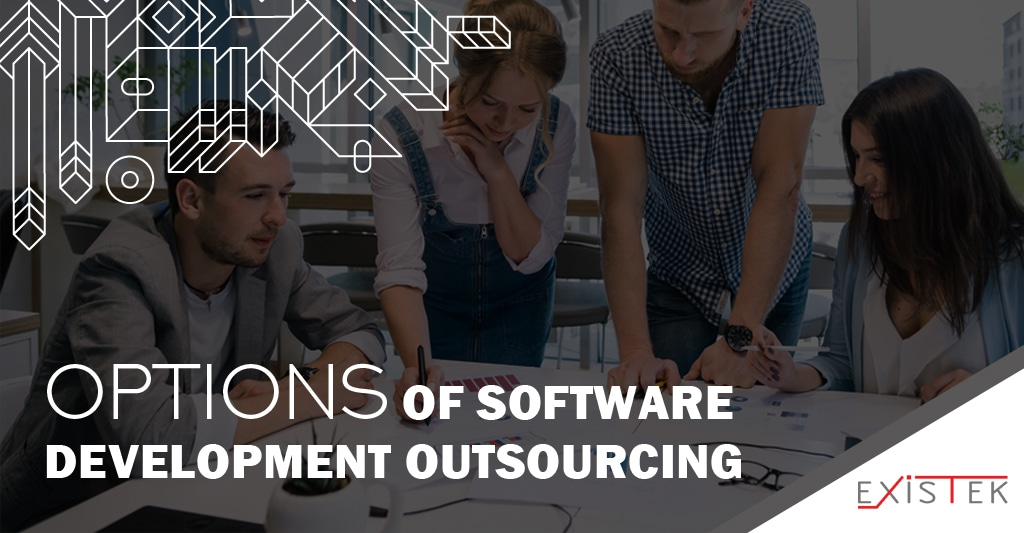 Software development outsourcing services options article heading image