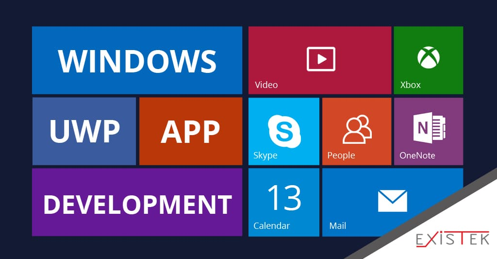 Windows UWP apps development services article