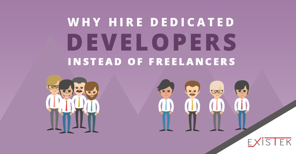 why hire dedicated developers instead of freelancers post header image